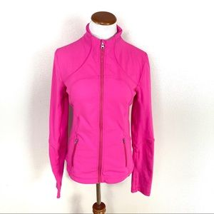 Lululemon Forme Jacket Hot Paris Pink Luon Fitted